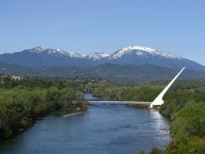 Sacramento River with Sundial Bridge