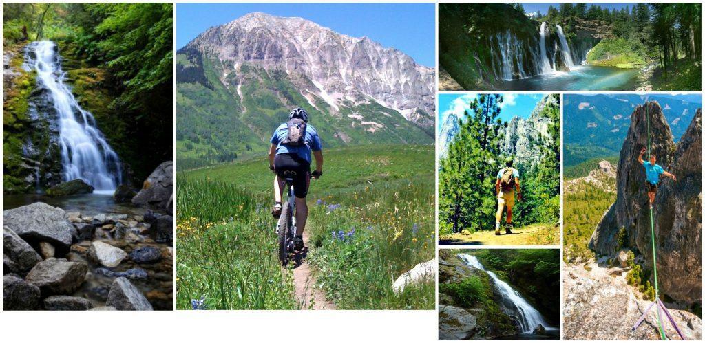 01. Waterfalls & Hiking Collage