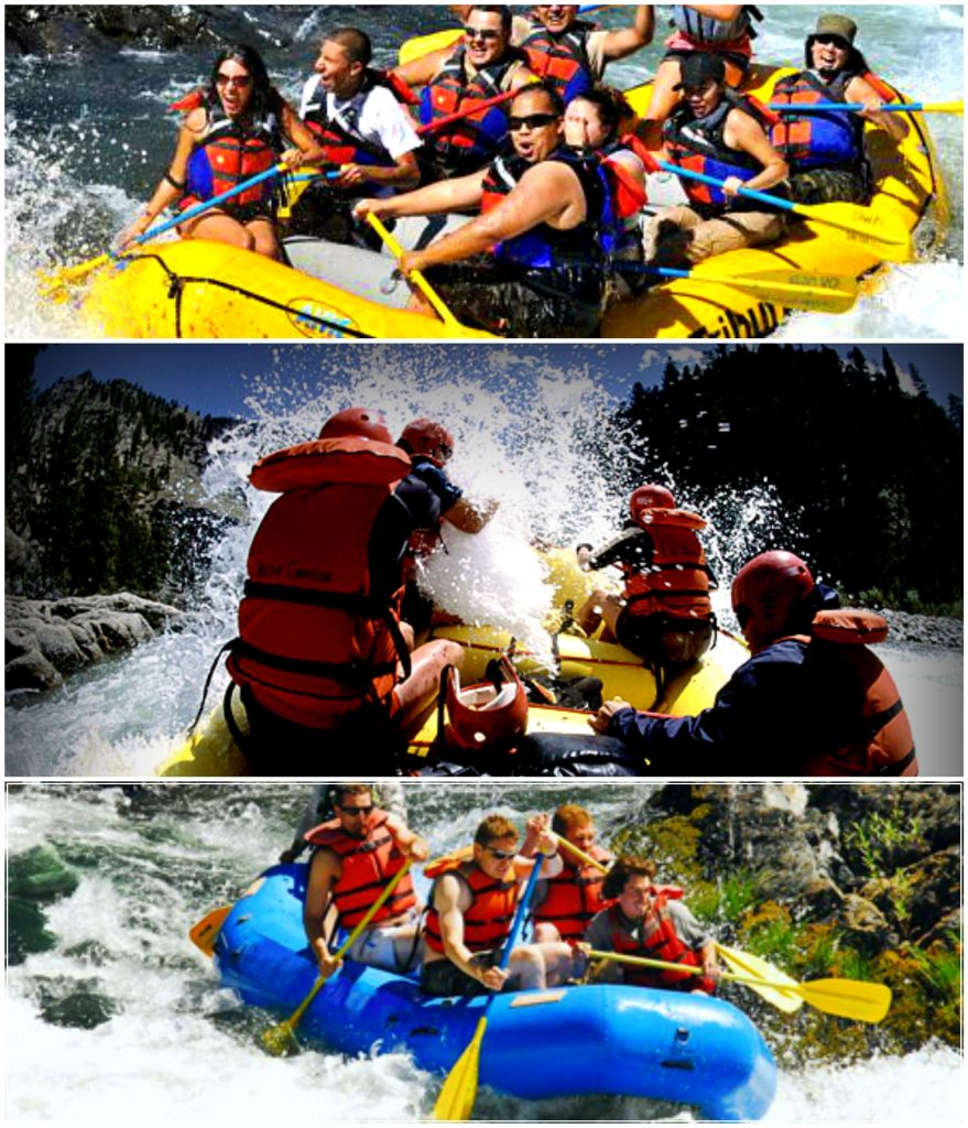 01. White Water Raft Collage